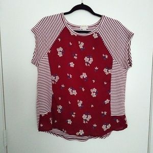 Maeve by Anthropologie floral top